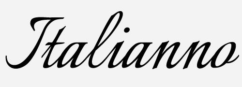 italianno script font