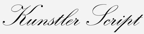 kunstler script font