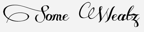 some weatz script font