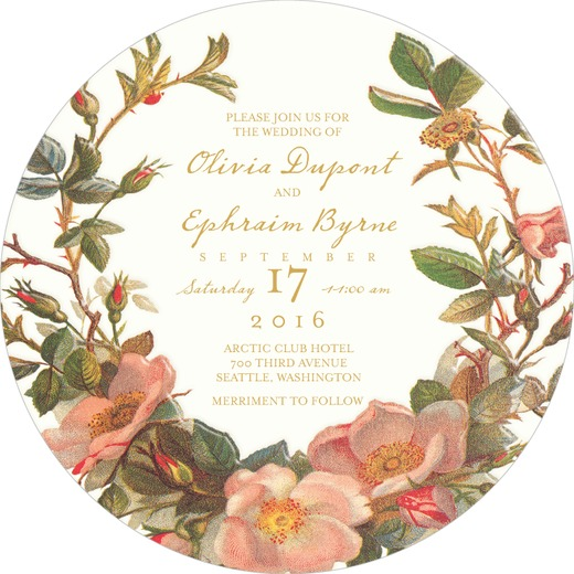 Tea For Two Wedding Invitations by  Claire Pettibone for Wedding Paper Divas