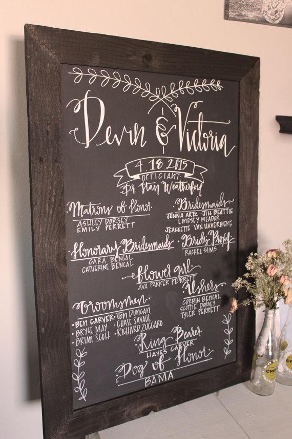 wedding-program-chalkboard-sign