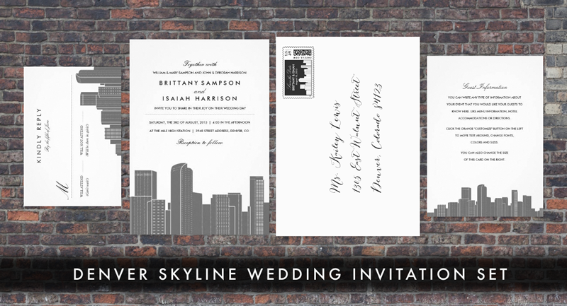 Wedding Invitations Denver was very inspiring ideas you may choose for invitation ideas