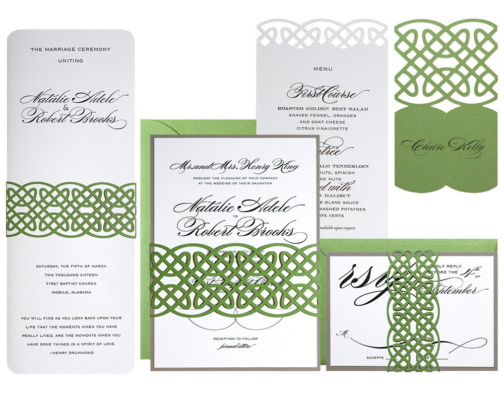 Irish Wedding Invitations could be nice ideas for your invitation template