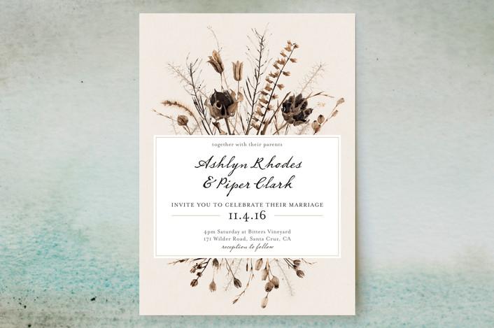 The Most Beautiful Fall Wedding Invitations